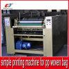 Часть легкой деятельности просто печатной машиной Части для мешка сплетенного PP