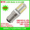bulbo do diodo emissor de luz de 3W B15 (LT-B15P4)