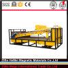 Placa-Tipo elevado método molhado do inclinação do separador magnético para o mineral, silicone
