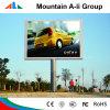 판매를 위해 LED 스크린을 광고하는 옥외 디지털