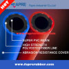 boyau jumeau en caoutchouc industriel flexible de soudure d'acétylène de l'oxygène 20bar