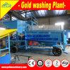 Equipo móvil aluvial de la mina de oro para la mina de oro de la pequeña escala