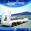 30-80 Tonnen Low Bed Trailer mit Mechanical Ladder