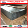 Feuille en acier ondulée de toiture de zinc de fer de G90 Hdgi