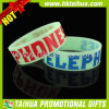 Um fulgor de 1 polegada no Wristband escuro do silicone (TH-band057)