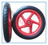 편평한 자유로운 외바퀴 손수레 타이어 PU 거품 바퀴