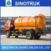 Sinotruck 흡입 유형 하수구 넝마주이 트럭