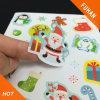 Etichette adesive del modello sveglio della Cina per il giorno di Natale