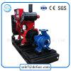 Pompe à eau simple d'aspiration de moteur diesel pour la centrale