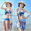 Dameform reizvolle Bikini-Badebekleidung