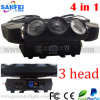 3 9PCS diodo emissor de luz principal Beam Moving Head 160W Light