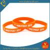 Bracelet fait sur commande de Promotional Silicone à vendre (LN-014)