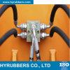 Mangueira hidráulica de borracha trançada R1at/1sn R2at/2sn do fio de alta pressão
