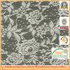 Stof van het Kant van de Kleur van de Kwaliteit van de Polyester van 100% de Witte M9102
