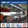 80-100tons 4axle Cimc de Semi Aanhangwagen van Huajun Lowbed