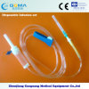 Gemaakt in China Medical Disposable I.V Infusion plaats met Naald