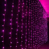 LEDのカーテンは休日のホーム装飾のためのクリスマスの屋外ライトをつける