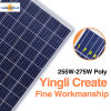 中国の上3よい価格のPVの製造業者のYingli 255W~275Wの太陽電池パネル