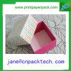 Cadres de empaquetage de boîte-cadeau de papier colorée faite sur commande