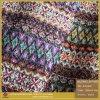 Het kleurrijke Aangepaste Populaire Imitatie Geweven Leer van het Octrooi/van de Spiegel Pu voor Doek (BY024090)