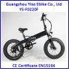 Gros vélo se pliant électrique 20 pouces avec la batterie cachée