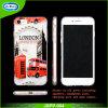 La recepción crea la caja transparente del teléfono celular para requisitos particulares del claro TPU para el iPhone 7