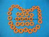La inyección del grado médico de la alta calidad moldeó los anillos o coloreados del torniquete del silicón
