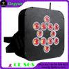 Lumière sans fil de PARITÉ de la batterie DEL de RoHS 12X15W 5in1 Rgbwy de la CE