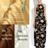 Modificar la tela de seda impresa del Spandex para requisitos particulares para la ropa