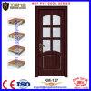 Porte intérieure décorative populaire de PVC en bois