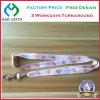 traspaso térmico modificado para requisitos particulares manera de la insignia/acollador secundario del tinte con el gancho de leva del metal