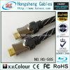 раковина металла кабеля 30m длинняя HDMI