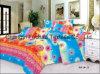 Folha poli ou do algodão da alta qualidade do laço da HOME de matéria têxtil de base
