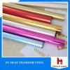 Vinilo basado PU vivo de la materia textil de la transferencia del calor del color para la tela