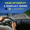 Выигрывать-Новизна A5 конструкции индикации всеобщей головки GPS 3.5 дюймов автомобиль Hud лобового стекла репроектора экрана поднимающей вверх Multi-Color безопасный управляя отражая