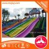 Jogos ao ar livre da corrediça do arco-íris do campo de jogos dos miúdos do parque das crianças de Guangzhou