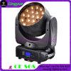 testa mobile di 19PCS 12W LED per il fascio della lavata