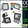 luz de inundación de 10W 20W 30W 50W 80W 100W 150W 200W 300W 400W AC85-265V IP65 LED