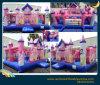 Verwendete kommerzielle aufblasbare Prinzessin Bouncer Castle für Verkauf