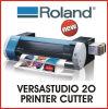 Impresora de inyección de tinta Bn-20 de Japón Rolando Versastudio 20 del mejor precio /cortador de escritorio originales con salida libre