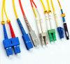 Sm/mmのシンプレックスかデュプレックスLC/Sc/St/FCの光ファイバパッチ・コード