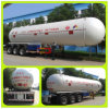 3 LPG Tanker Trailer Tri Axle 56, 000liters LPG Semi Trailer van de as voor Nigeria