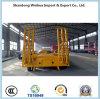 中国の製造者からの3つの車軸が付いているトラックのLowbedの頑丈な半トレーラー