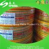 Le boyau /PVC d'irrigation de PVC de boyau tressé par PVC a renforcé le boyau de jardin