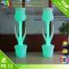 Vase à fleur en plastique de DEL