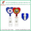 Heart Sahpe Badge Reel with Alligator Clip