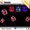 驚かせるCountless Coloful Effect LED 3D Cube