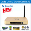 Quadrato Core Android Smart TV Box T8 per Kodi Xbmc