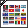 Connexion brodée d'indicateur pour différents pays (BYH-10158)