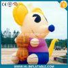 Modelo inflável dos desenhos animados do rato de Adcertising da venda quente, desenhos animados infláveis do rato para alamedas/miúdos